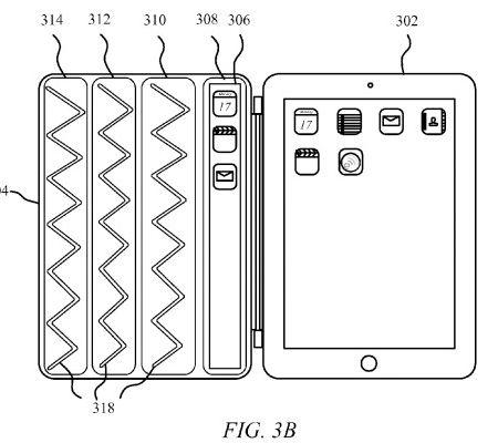 Nova patente Smart Cover Apple