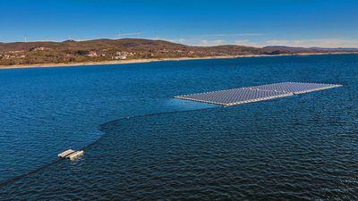 Portugal aposta em plataformas flutuantes para capturar energia solar