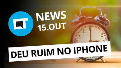 iPhones erram horário de verão; Palm Phone com 3,3 polegadas e + [CT News]