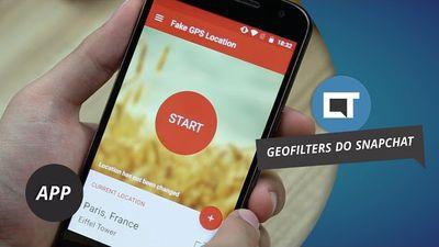 Hack: como ativar TODOS os filtros geofilters do Snapchat no seu Android #DicaDeApp