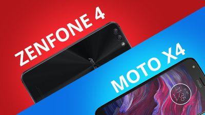Moto X4 vs Zenfone 4 [Comparativo]