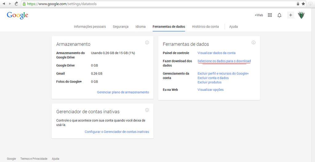 Contas Google