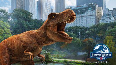 Jurassic World Alive é quase um Pokémon GO, só que com dinossauros