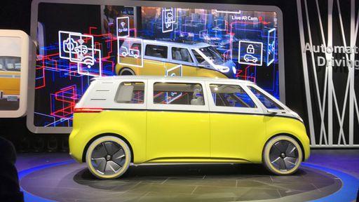 Volkswagen resgata clássica Kombi em conceito de van elétrica autônoma