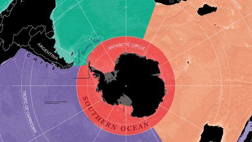 Oceano Antártico é oficialmente reconhecido como um corpo de água distinto
