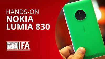 """Lumia 830: conferimos o novo """"flagship acessível"""" da Microsoft [Hands-on   IFA 2"""