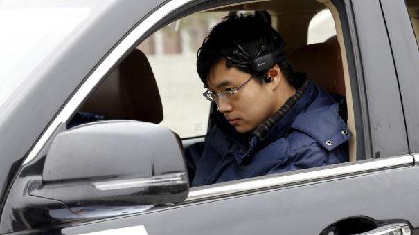 Carro chinês é guiado pelo poder da mente