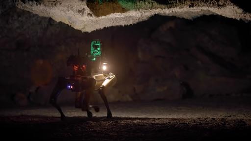 """NASA faz primeiros testes com """"cão-robô"""" que explorará as cavernas de Marte"""