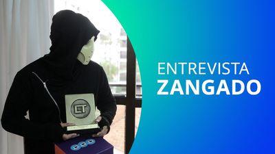 Entrevista com Zangado: games polêmicos, carreira e dublagem com Goku