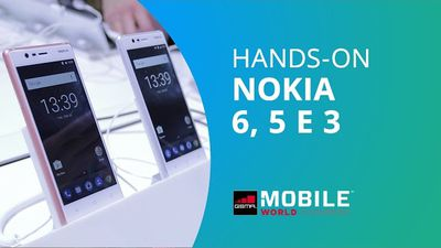 Nokia 6, Nokia 5 e Nokia 3 [Hands-on MWC 2017]
