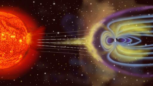 Astrônomos avaliam se a magnetosfera da Terra resistirá ao turbulento fim do Sol