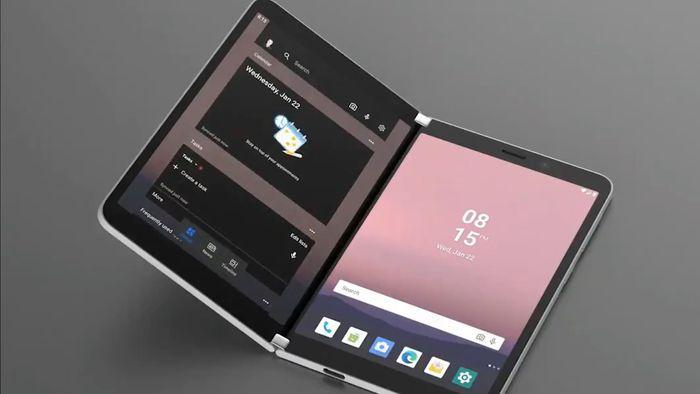 Surface Duo é flagrado funcionando com Android; veja o vídeo