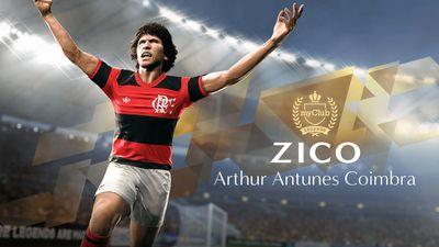 Zico é nomeado novo Embaixador e Jogador Lendário do PES 2018