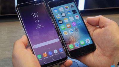 iPhone vende bem enquanto Samsung testa limites com alto preço do Galaxy S8
