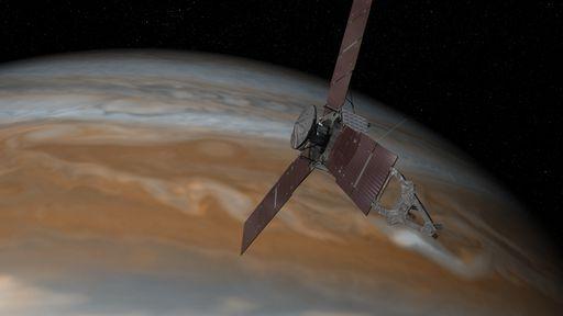Missão Juno poderá ser estendida para analisar ainda melhor Júpiter e suas luas