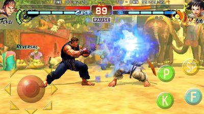 Street Fighter IV Champion Edition chega de graça ao Android