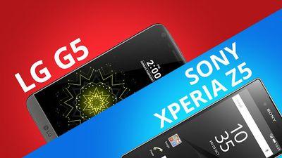 LG G5 vs Sony Xperia Z5: quem vence a batalha? [Comparativo]