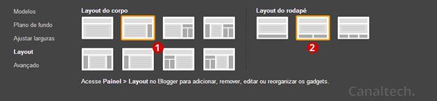 Personalizar Blogger