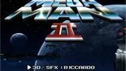 Abertura do Megaman 2 em 3D e HD
