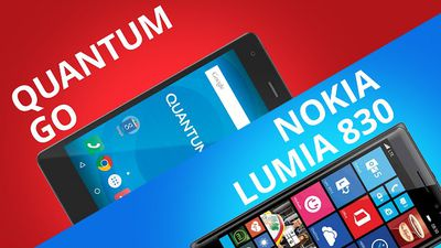 Quantum GO VS Lumia 830 [Comparativo]