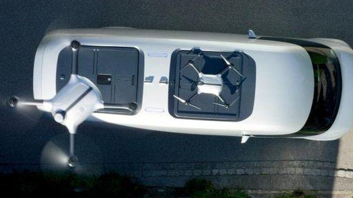 Mercedez-Benz quer incluir drones em vans para ajudar nas entregas
