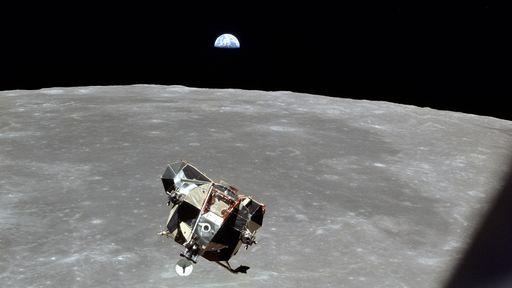 Módulo de ascensão usado na missão Apollo 11 ainda pode estar na órbita da Lua