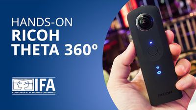Ricoh Theta 360º: reproduza as imagens 360° do Google Street View [Hands-on | IF