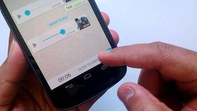WhatsApp facilita gravação de mensagens de áudio no Android