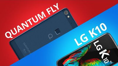 Quantum Fly vs LG K10 [Comparativo]