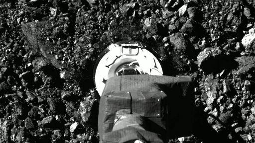 Sonda OSIRIS-REx armazena amostras de asteroide para trazê-las à Terra em 2023