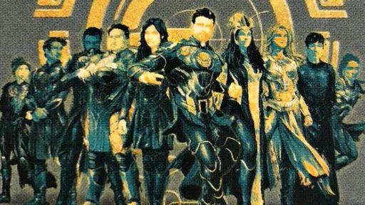 Os Eternos   Imagem vazada mostra pela 1ª vez todos os heróis do grupo da Marvel