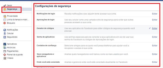 Remover vírus do Facebook