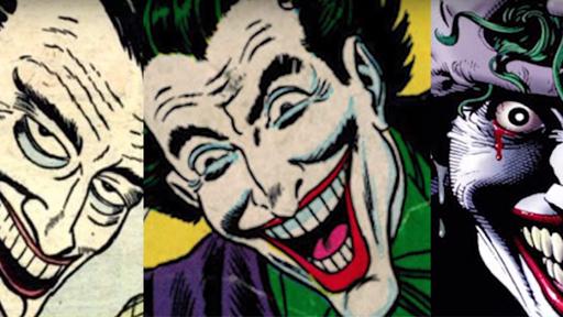As várias faces do Coringa pelas HQs, séries e cinema