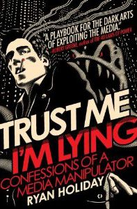 Livro Truste Me I'm Lying