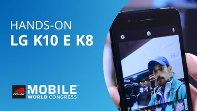 Hands-on MWC 2018 | LG K10 e K8