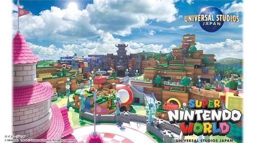 Parque temático da Nintendo revela data de inauguração