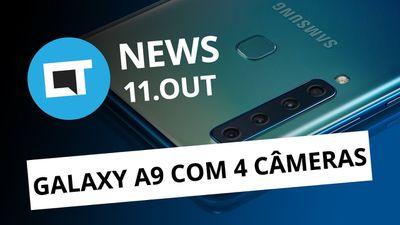 Razer Phone 2; Galaxy A9 com 4 câmeras; Foguete tripulado falha e+ [CT News]