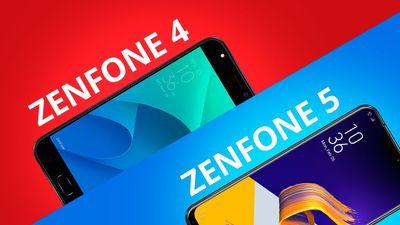Comparativo | Asus Zenfone 4 vs Zenfone 5