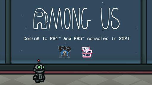 Among Us será lançado para PS4 e PS5 ainda em 2021