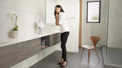 CES 2019 | Conheça o espelho inteligente que pode virar lâmpada ou alto-falante
