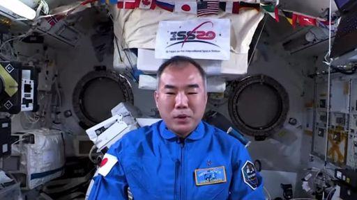 Astronauta japonês na ISS conversa com Marcos Pontes e manda recado ao Brasil