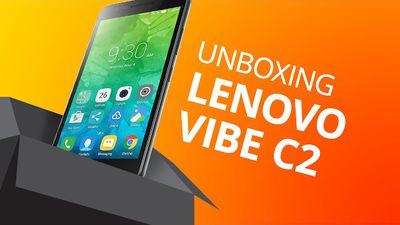 Lenovo Vibe C2 [Unboxing]