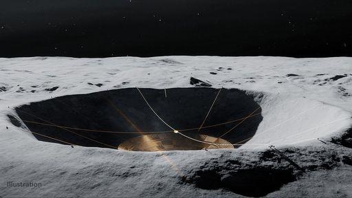 Um radiotelescópio no lado afastado da Lua poderia descobrir muitos exoplanetas