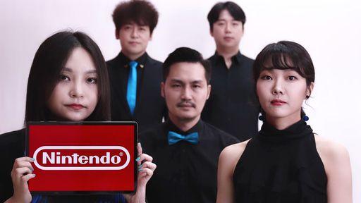Switch, SNES e mais | Grupo acapella recria sons da Nintendo