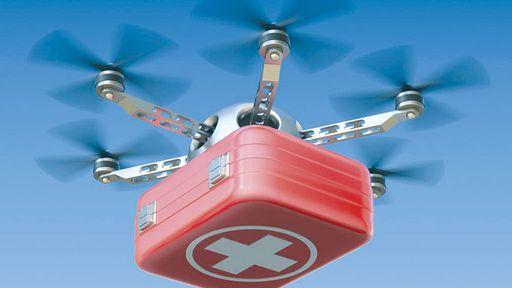 Drones começam a entregar bolsas de sangue na África